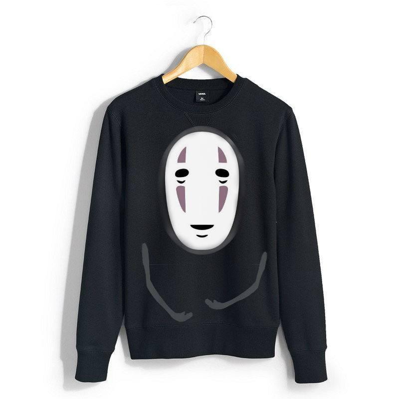 Spirited Away No Face Sweatshirts - ghibli.store