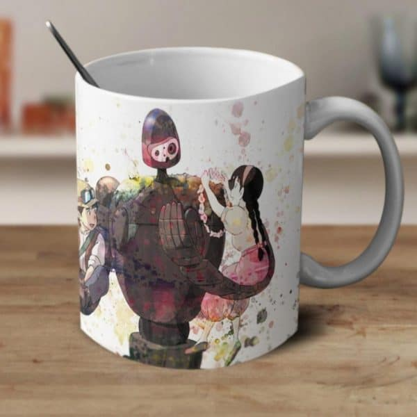 Laputa: Castle in the Sky Robot Mug - ghibli.store
