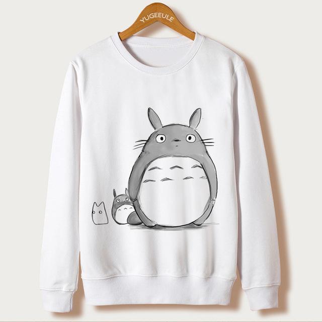 Totoro Sweatshirt Women New Design 2017 11 Styles - ghibli.store