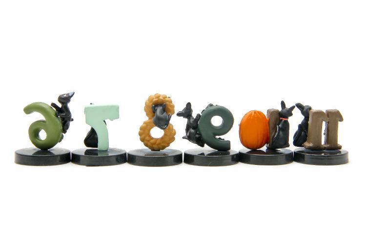 Kiki's Delivery Service Black Cat Figure Collection 12Pcs/set - ghibli.store