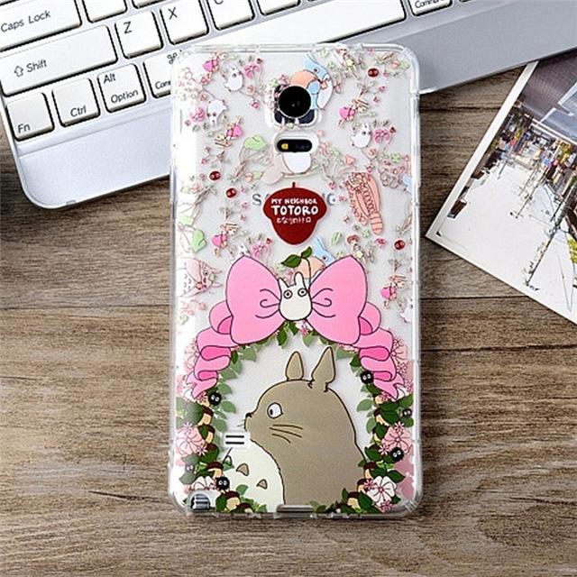 My Neighbor Totoro Shockproof Phone Case for Samsung 6 Styles - ghibli.store