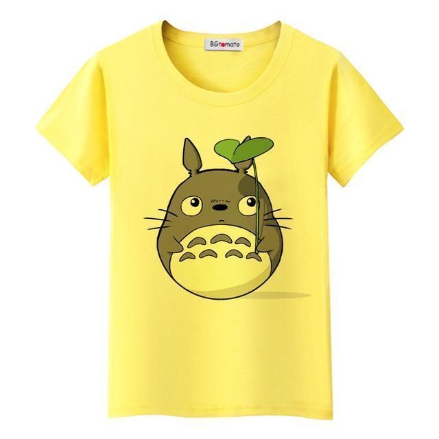 My Neighbor Totoro Cute T-shirt For Women 3 Styles - ghibli.store