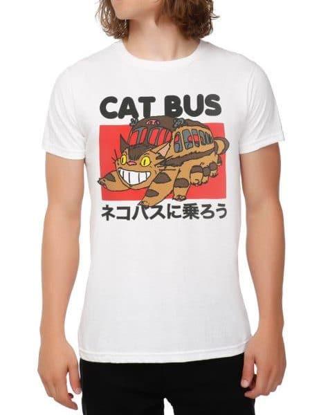 My Neighbor Totoro Cat Bus T shirt - ghibli.store