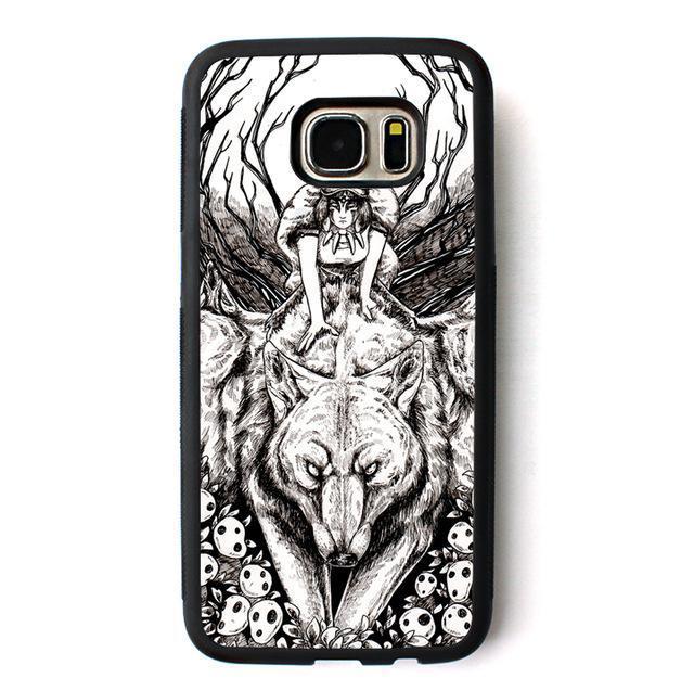 Princess Mononoke Phone Case For Samsung Galaxy 5 styles - ghibli.store