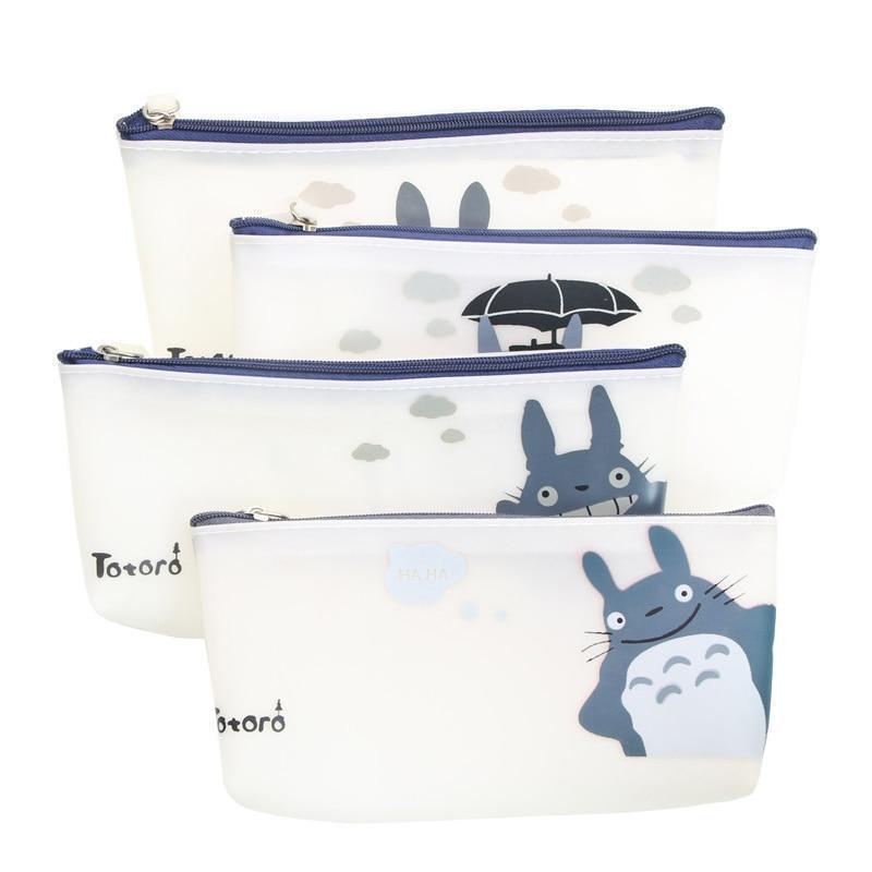 My Neighbor Totoro Jelly Pu Leather Pen Bag - ghibli.store