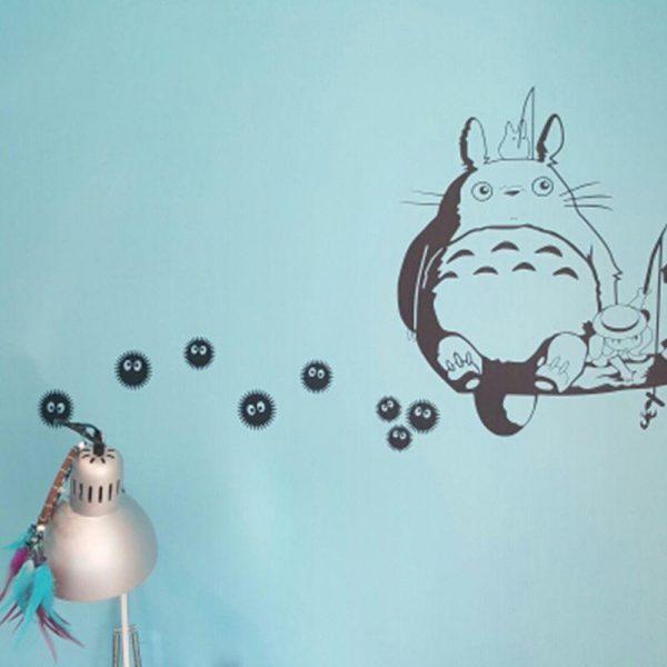 My Neighbor Totoro Soot Sprites Wall Art Stickers - ghibli.store