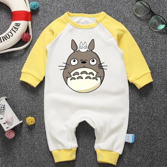 My Neighbor Totoro Onesies Long Sleeve for Baby - ghibli.store