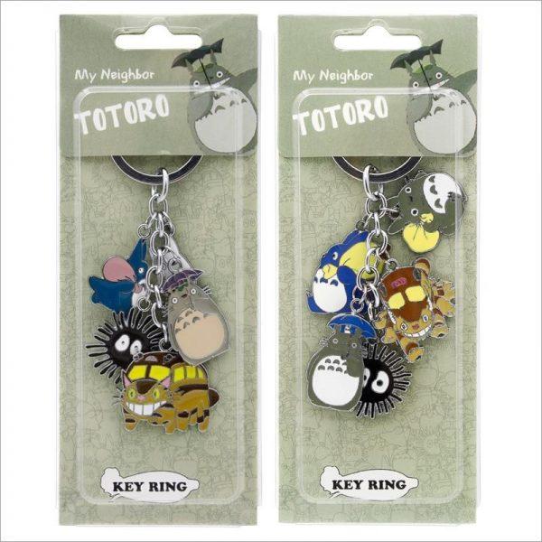 My Neighbor Totoro Metal Keychain - ghibli.store