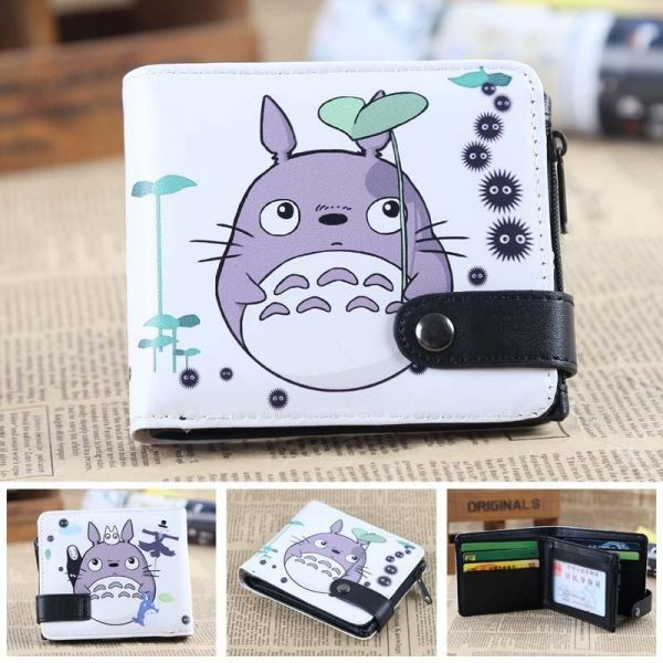My Neighbor Totoro Leather Wallet - ghibli.store