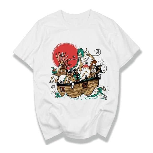 Studio Ghibli Unisex T-Shirt 11 Styles - ghibli.store