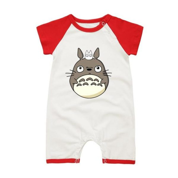 My Neighbor Totoro Onesies Short Sleeve for Baby 5 Colors - ghibli.store