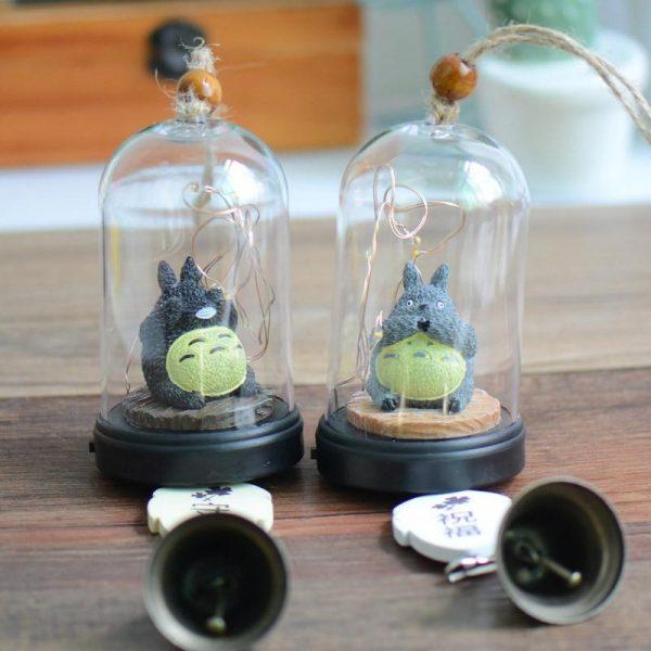 My Neighbor Totoro Wind Chimes with Light - ghibli.store