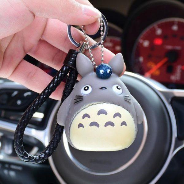 My Neighbor Totoro Fur Ball Keychain - ghibli.store
