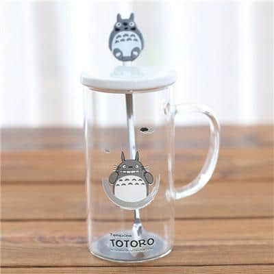 My Neighbor Totoro Lovely Mug With Stainless Steel Spoon - ghibli.store