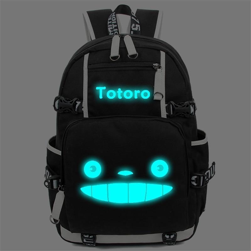My Neighbor Totoro Luminous Backpack 2 Styles - ghibli.store