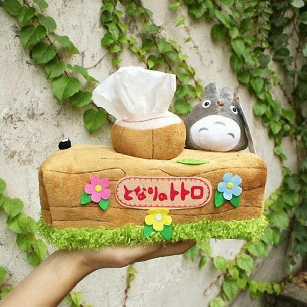 My Neighbor Totoro Rectangle Tissue Box Cover - ghibli.store