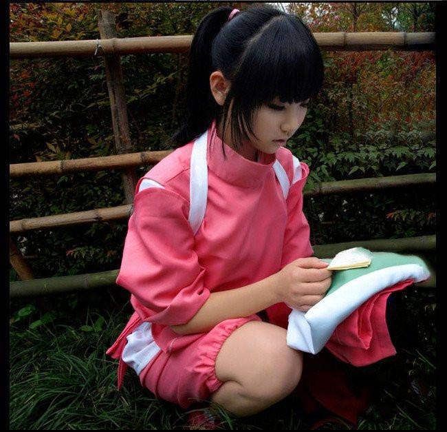 Spirited Away Chihiro Cosplay Costumes - ghibli.store