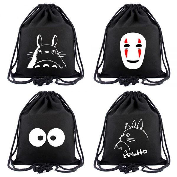 Ghibli Drawstring Bags - ghibli.store