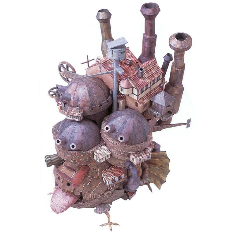 Howl's Moving Castle DIY Paper Model 50cm - ghibli.store