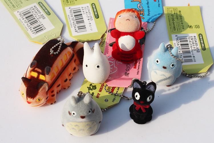 Ghibli Studio Cutest Characters Keychains 6pcs/lot - ghibli.store