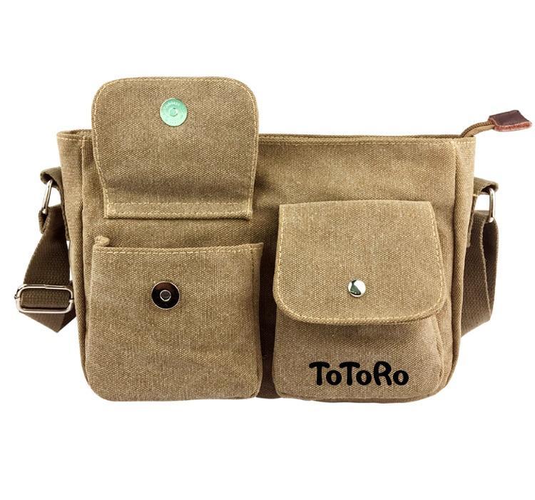 My Neighbor Totoro Messenger Canvas Shoulder Bag - ghibli.store