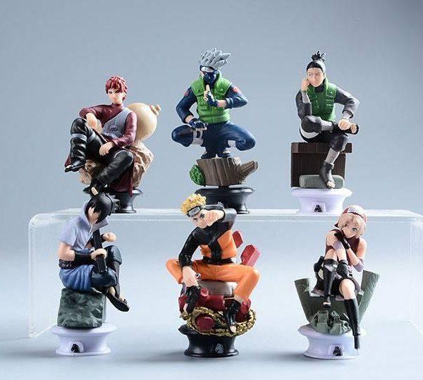 Naruto Pvc Toy Figure 9cm 6 Pcs/set - ghibli.store