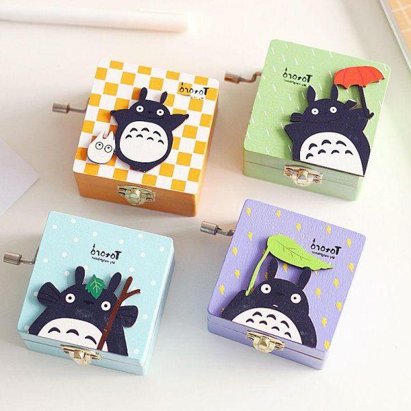 Totoro Wooden Music Box 2019 - ghibli.store