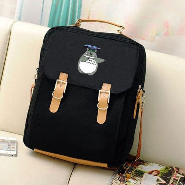 My Neighbor Totoro Canvas Laptop Backpack - ghibli.store