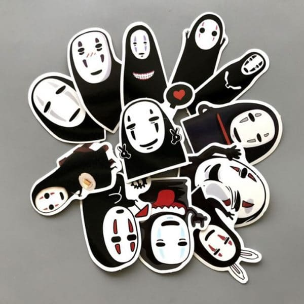 Spirited Away No Face Kaonashi Waterproof Stickers