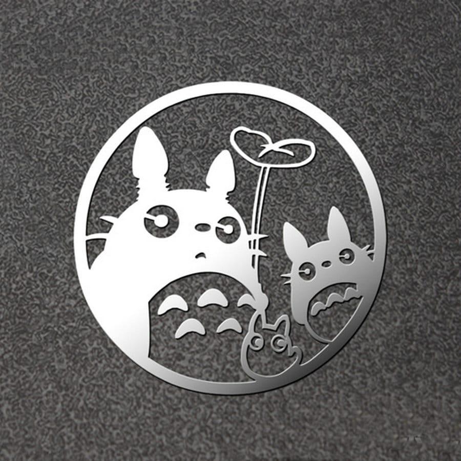 Ghibli Studio Metal Decal for Laptop