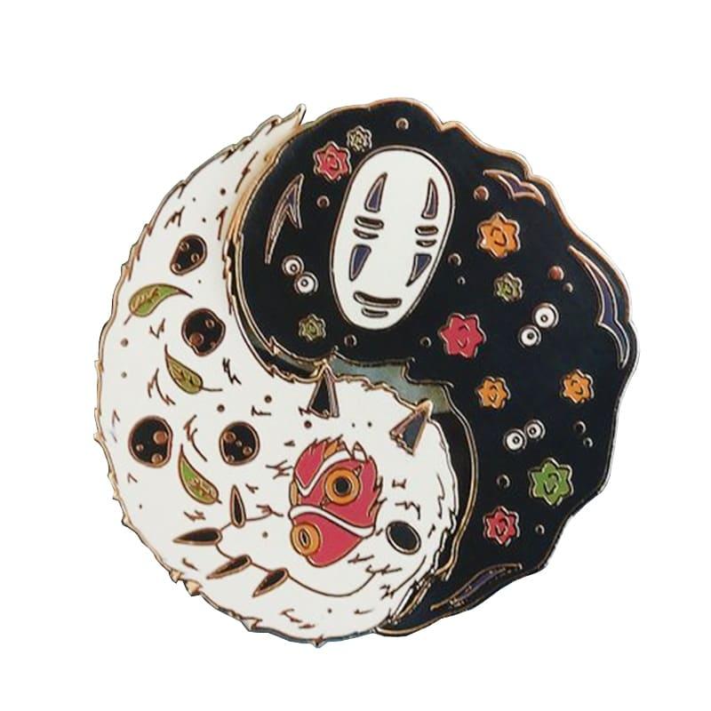 Ghibli Studio Cute Badge Pins 30mm