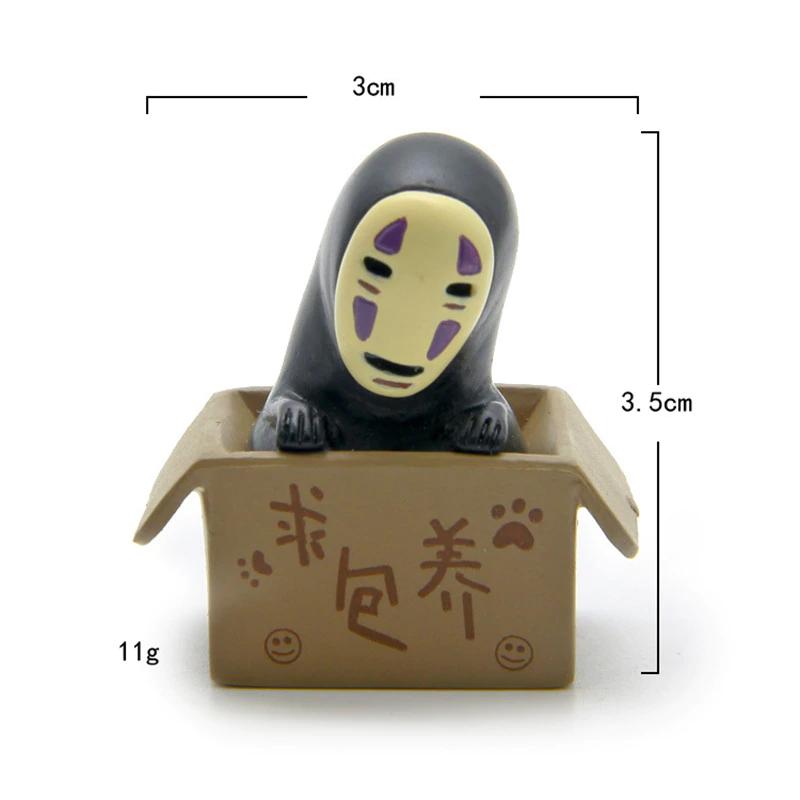 Spirited Away No Face Kaonashi In Box Figure
