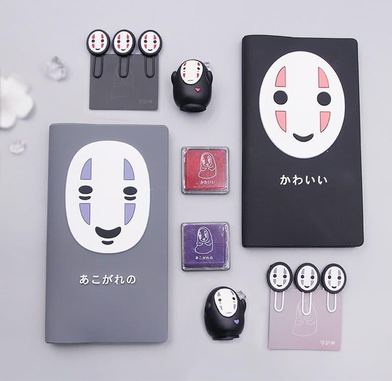 Spirited Away No Face Kaonashi Notebook Set 2 Styles