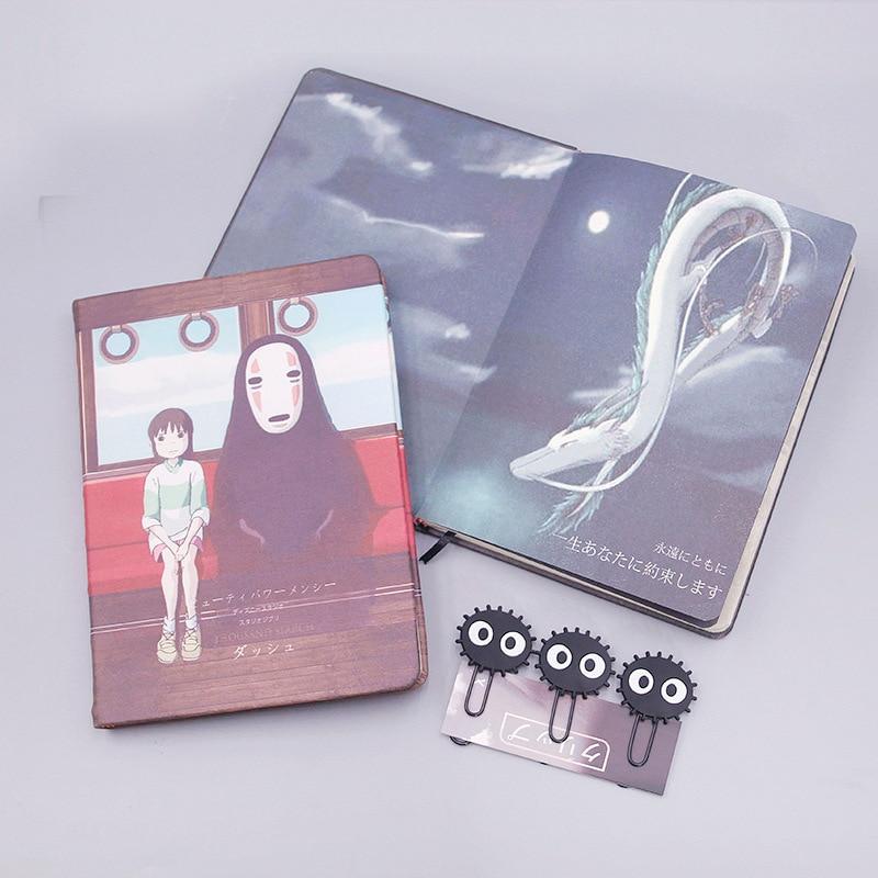 Spirited Away Chihiro and No Face Notebook Set