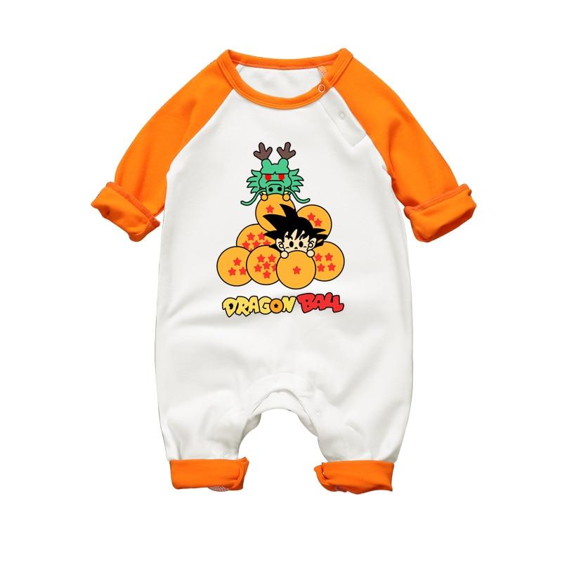Dragon Ball Son Goku Baby Onesies Long Sleeve 10 Styles