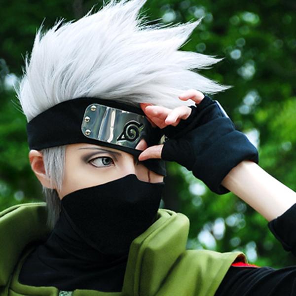 Naruto Cosplay Props Hatake Kakashi Wig