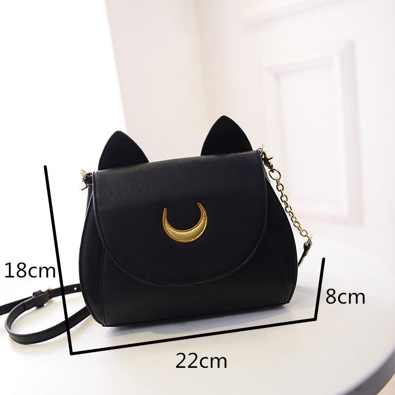 Sailor Moon Cat Shoulder Bags 2 Colors