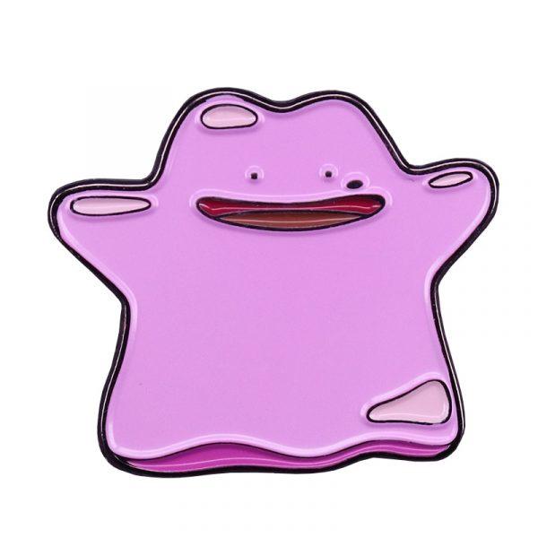 Pokemon Ditto Cute Jelly Badge Pins