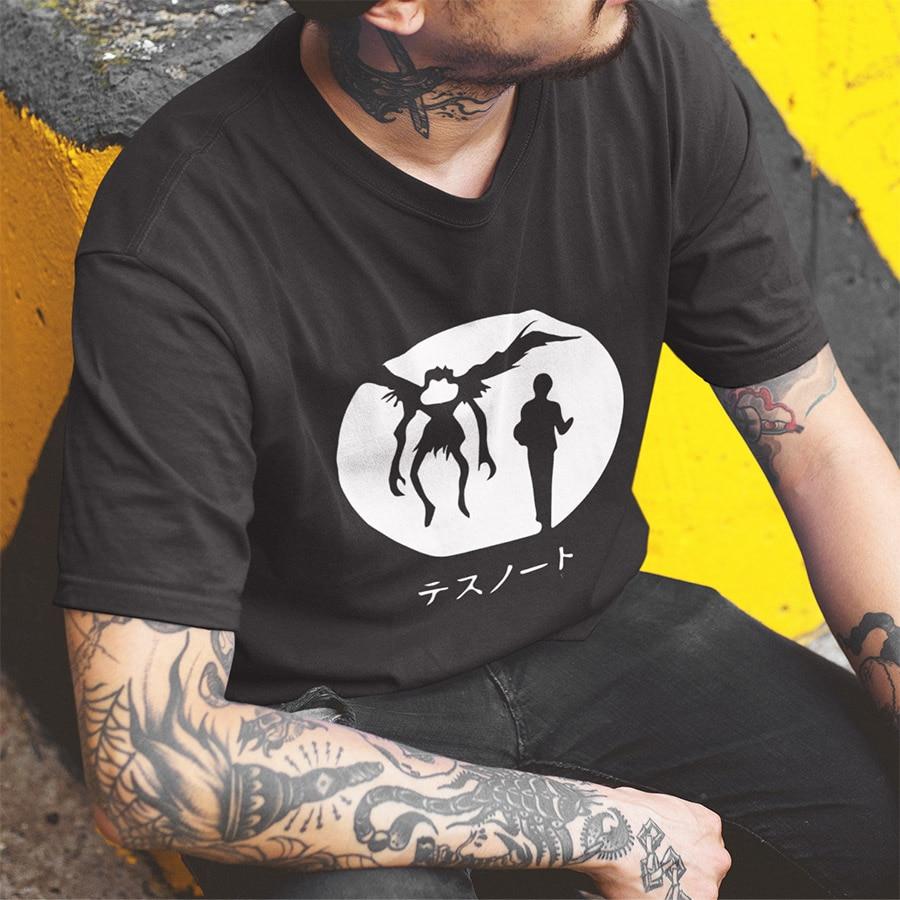 Death Note Cotton T-shirt For Men