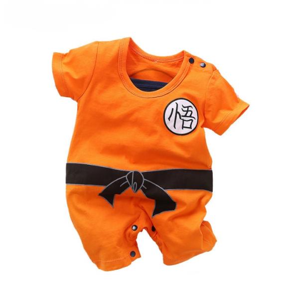 Dragon Ball Son Goku Cosplay Costume for Baby