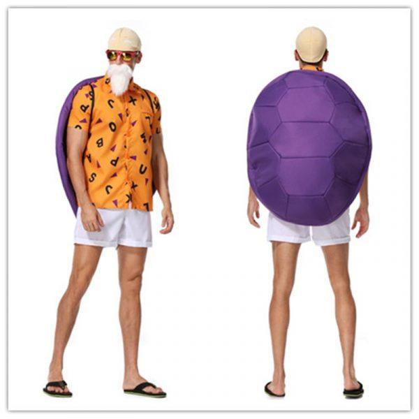 Dragon Ball Z Master Roshi Halloween Cosplay Costume