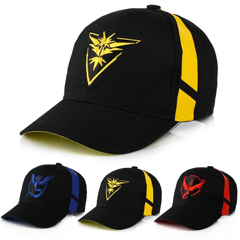 Pokemon Go Cotton Baseball Caps