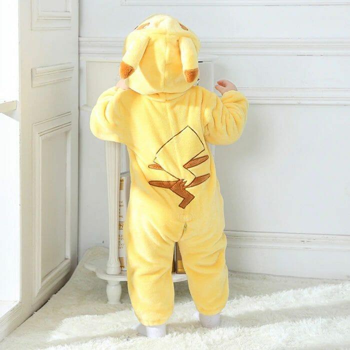 Pokemon Pikachu Halloween Cosplay Baby Onesie