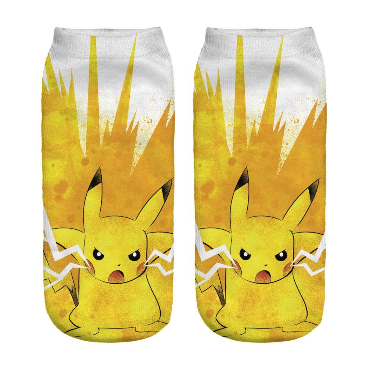 Pokemon Harajuku 3D Printed Socks