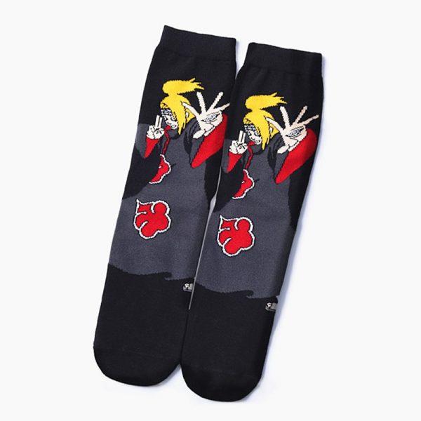 Naruto Akatsuki Cotton Socks 6 Styles