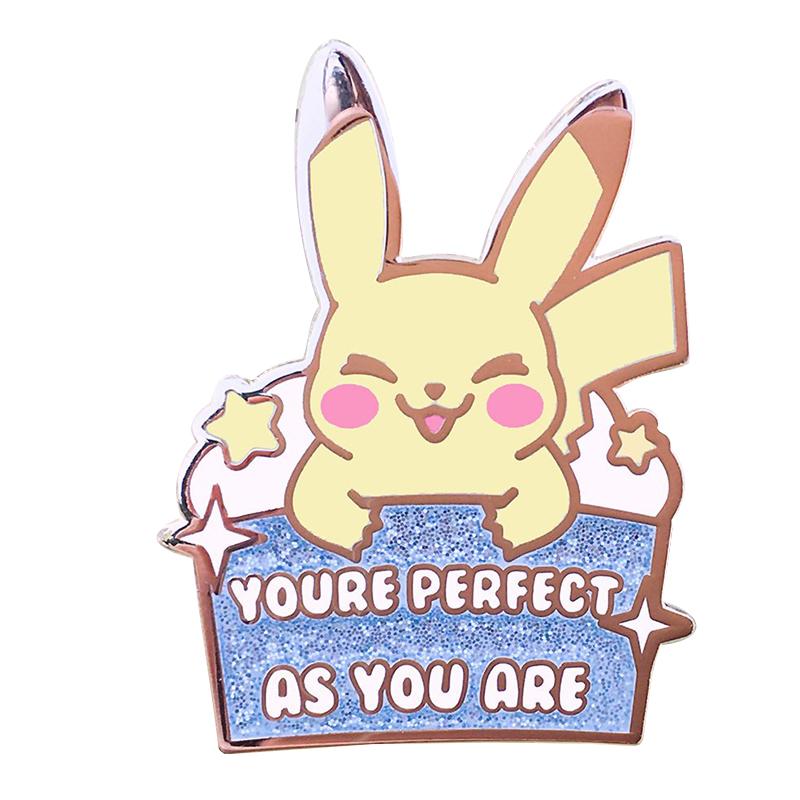 Pokemon Pikachu Badge Pins
