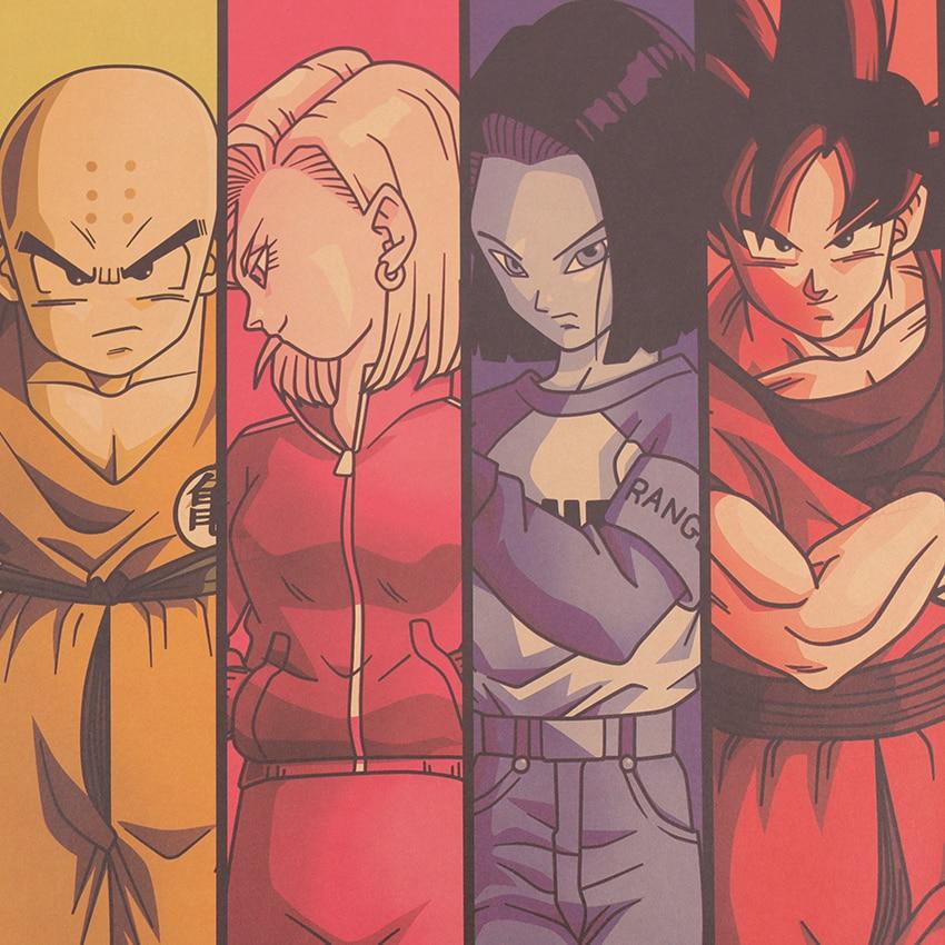 Dragon Ball Characters Wall Poster