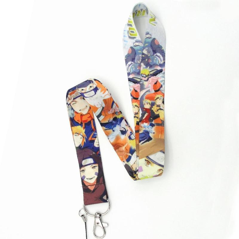Naruto Keychain Lanyards 3 Styles