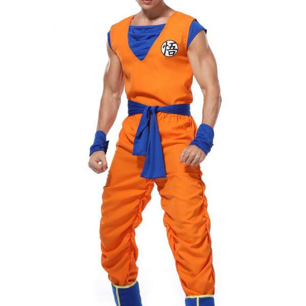 Dragon Ball Z Son Goku Halloween Cosplay Costume