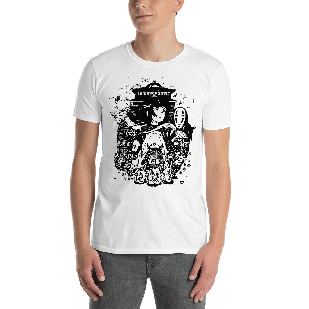 Spirited Away Art Collection T Shirt  Unisex